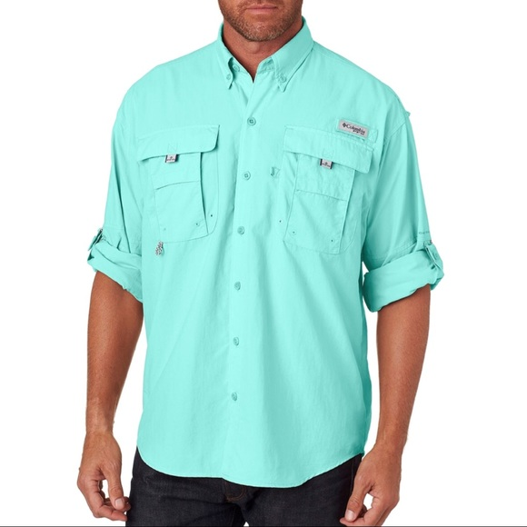 fa58208b sale Men's [Columbia] PFG Bahama Long Sleeved Top.  M_5c8a8a2ec89e1d54307d4fb4